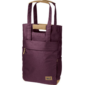 Jack Wolfskin Piccadilly Shopper Bag burgundy